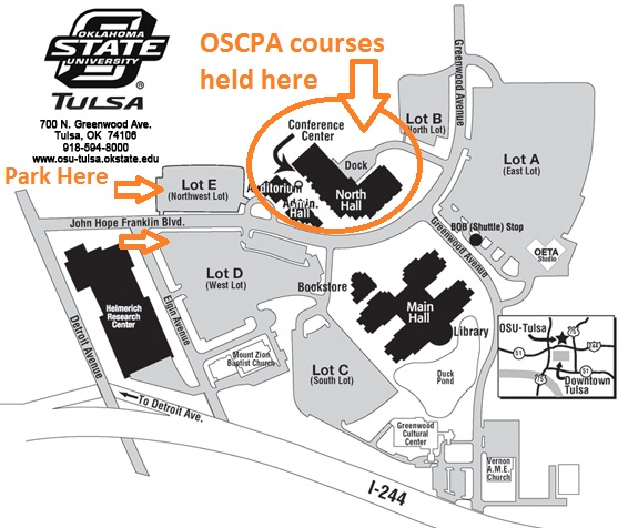 osu okc campus map Facility Maps Resources Oklahoma Society Of Cpas osu okc campus map
