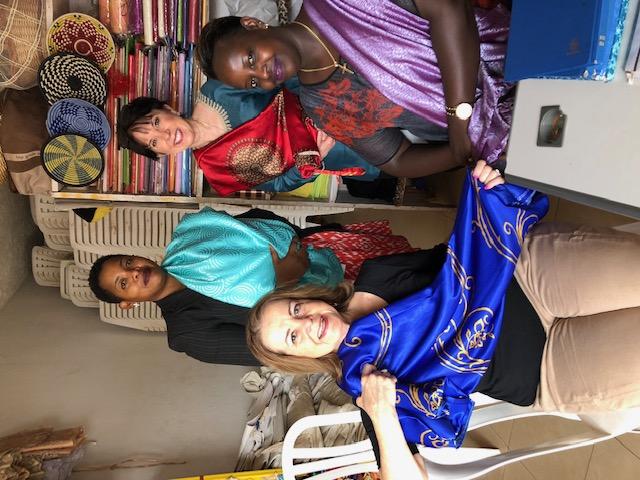Nancy Hyde in Rwanda